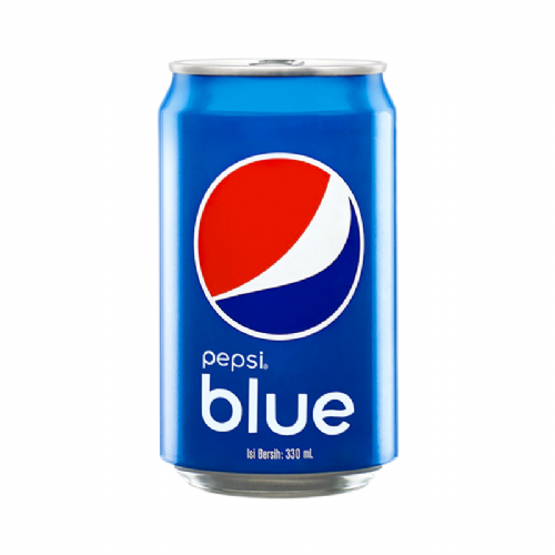 Pepsi Blue 330ml Can (Indonesia)